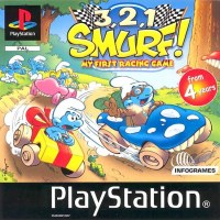3-2-1 Smurfs: My First Racing Game PS1