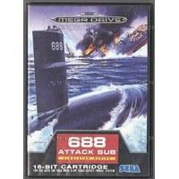 688 Attack Sub Megadrive