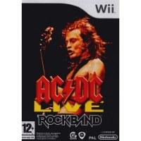AC/DC Live Rockband Nintendo Wii