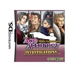 Ace Attorney Miles Edgeworth Investigates Nintendo DS
