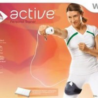 Active Personal Trainer EA Sports With Band + Strap Nintendo Wii