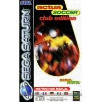 Actua Soccer Club Edition Saturn