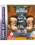 Adventures of Jimmy Neutron vs Jimmy Negatron Gameboy Advance
