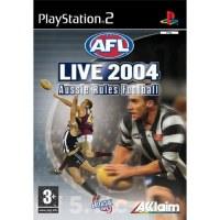 AFL Live 2004 PS2