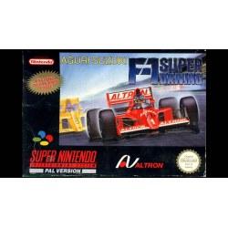 Aguri Suzuki F1 Driving SNES