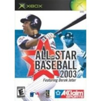 All Star Baseball 2003 Xbox Original