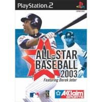 All Star Baseball 2003 PS2