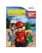 Alvin and the Chipmunks Chipwrecked Nintendo Wii