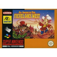 An American Tail Feivel Goes West SNES