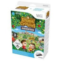 Animal Crossing Let's Go to the City with Wii Speak Nintendo Wii