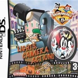 Animaniacs Lights Camera Action Nintendo DS