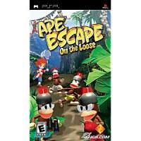 Ape Escape On The Loose PSP