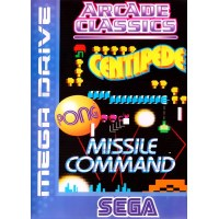 Arcade Classics: Centipede/Missile Command Megadrive