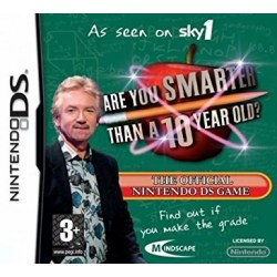 Are You Smarter Than a 10 Year Old Nintendo DS