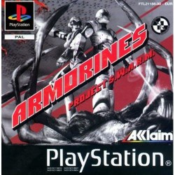 Armorines Project SWARM PS1