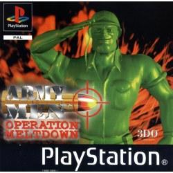 Army Men Operation Meltdown PS1