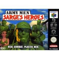 Army Men Sarge's Heroes N64