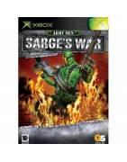 Army Men Sarges War Xbox Original