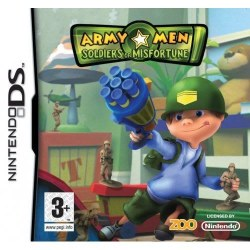Army Men: Soldiers of Misfortune Nintendo DS