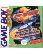 Asteroids/Missile Command Gameboy