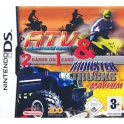 ATV Thunder Ridge Riders & Monster Trucks Mayhem Nintendo DS
