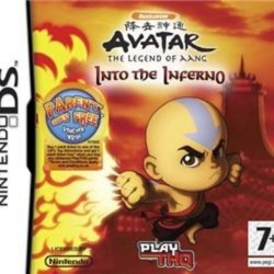 Avatar The Legend of Aang Into the Inferno Nintendo DS