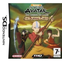 Avatar The Legend of Aang The Burning Earth Nintendo DS
