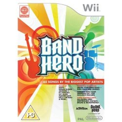 Band Hero Solus Nintendo Wii
