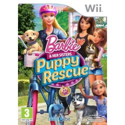 Barbie and Her Sisters: Puppy Rescue Nintendo Wii