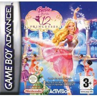 Barbie in the 12 Dancing Princesses Gameboy Advance