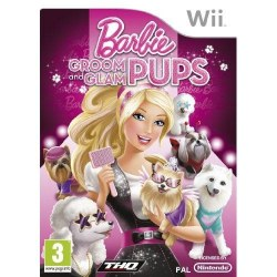 Barbie Groom and Glam Pups Nintendo Wii