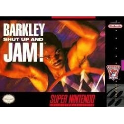 Barkley Shut Up and Jam SNES