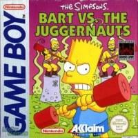Bart Vs Juggernauts Gameboy