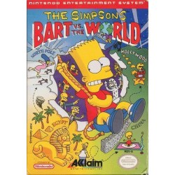 Bart Vs The World NES