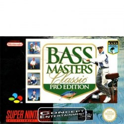 Bass Masters Classics:Pro Edition SNES