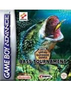 Bass Tournament ESPN Great Outdoor Games Gameboy Advance