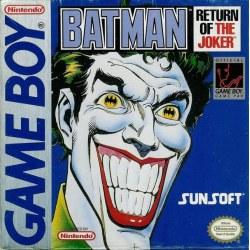 BatmanReturn of the Joker Gameboy