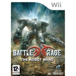 Battle Rage The Robot Wars with 3D Glasses Nintendo Wii