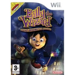 Billy the Wizard Rocket Broomstick Racing Nintendo Wii