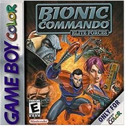 Bionic Commando Elite Forces Gameboy