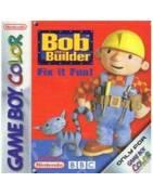 Bob the Builder Fix it Fun Gameboy