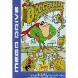 Boogerman A Pick and Flick Adventure Megadrive
