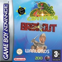 Breakout Centipede & Warlords Gameboy Advance