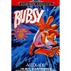 Bubsy In Claws Encounters of the Furred Kind Megadrive