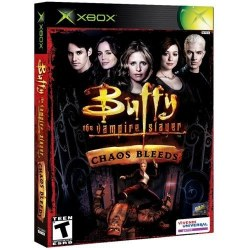 Buffy The Vampire Slayer Chaos Bleeds Xbox Original