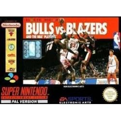 Bulls vs Blazers SNES