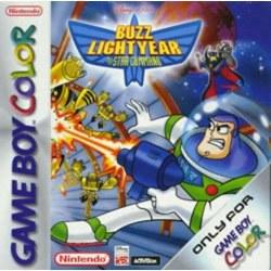 Buzz Lightyear of Star Command Gameboy
