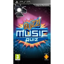 Buzz The Ultimate Music Quiz PSP