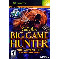 Cabelas Big Game Hunter 2005 Season Xbox Original