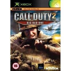Call of Duty 2 Big Red One Xbox Original